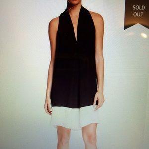Max studio pleated dress