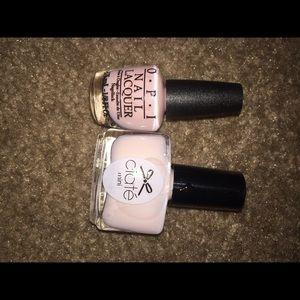 Ciate & OPI Nail Polish