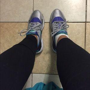 Shoes - Huaraches-Grey, Teal, Purple