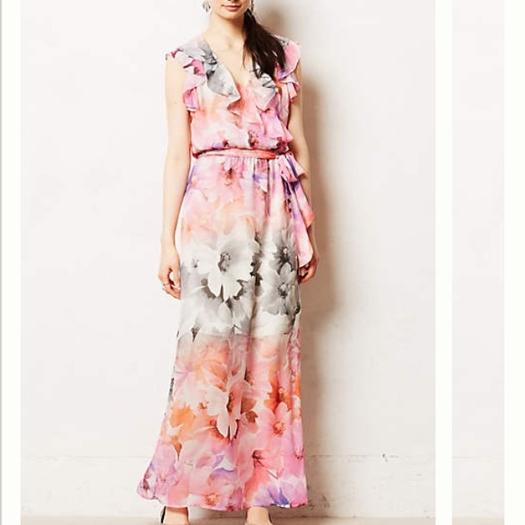 73 off anthropologie dresses skirts anthropologie hd for Anthropologie mural maxi dress