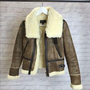 Mango bomber/pilot jacket