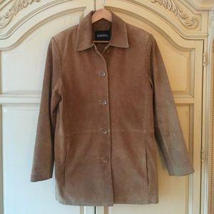 Bernardo Jackets & Blazers - Bernardo Washable Suede Jacket