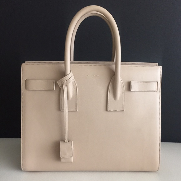 e2f7fed76426 Saint Laurent Sac de Jour nude satchel
