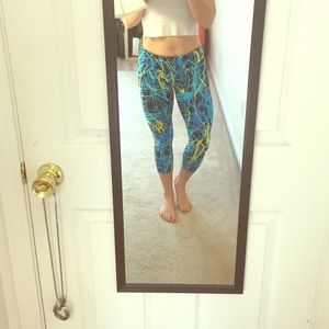 Workout capris