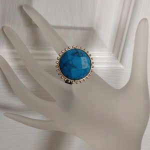 Towne & Reese Jewelry - Turquoise Gold Ring