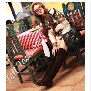 Shoes - Sale! Over the Knee Black Boots