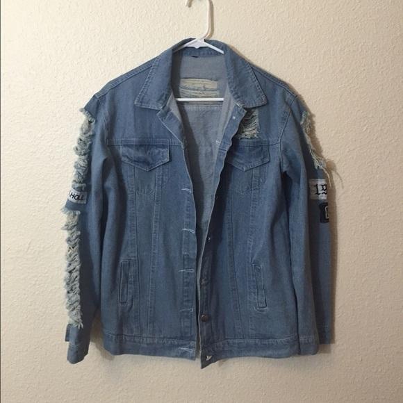 Jackets Coats 90s Tumblr Denim Jacket Poshmark