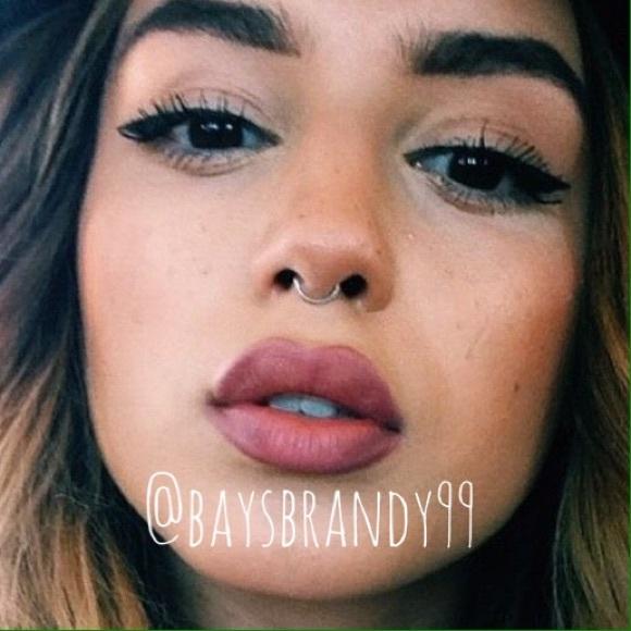 Brandy Melville Jewelry No Pierce Septum Nose Ring Hoop Poshmark