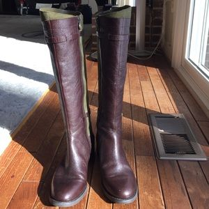 Etienne Aigner leather boots brand new, size 6
