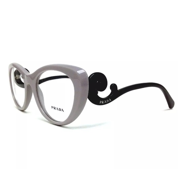 cfb267f90ea98 ... sunglasses 68b3c b9a2c  norway prada baroque gray black eye glass  frames nwb 2e6fc ce22f
