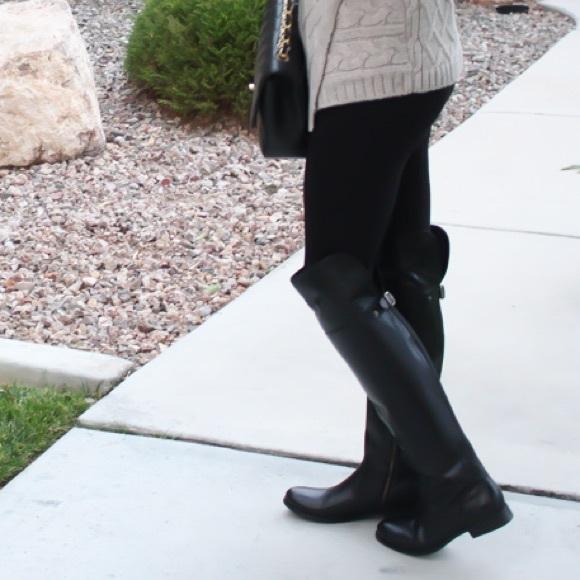 96dc8403ba3 Frye Shoes - Frye Melissa button black over the knee OTK 6.5