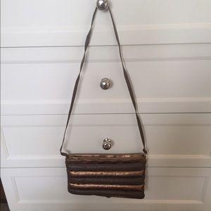 Handbags - Two toned Messenger Bag