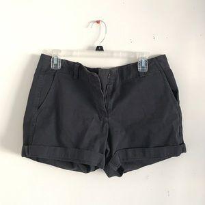 Jcrew broken in boyfriend navy shorts size 6