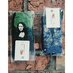 Other - 🎨ART socks (2pairs)