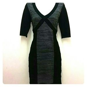 Wow Couture sweater body con dress