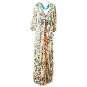 Dresses & Skirts - Brand-new long silky summer dress