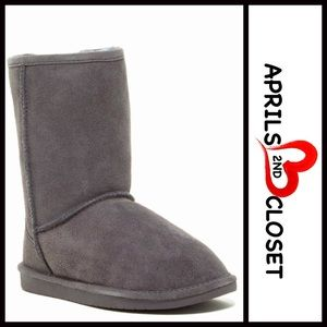 BP Nordstrom Brand Shoes - ❗1-HOUR SALE❗Suede Genuine Shearling Lined Boots