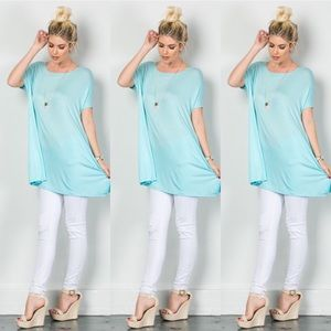 Tops - Boat Neck Tunic