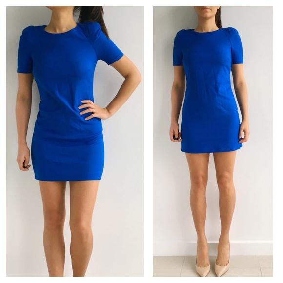 d5d13ccb Zara Royal Blue Sheath Dress. M_56b0632101985e706b02b5fb