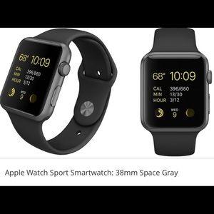 Jewelry - Apple Watch -sport  space grey
