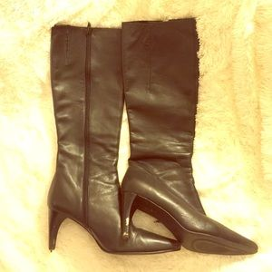 Amanda Smith Shoes - Leather boots, damaged