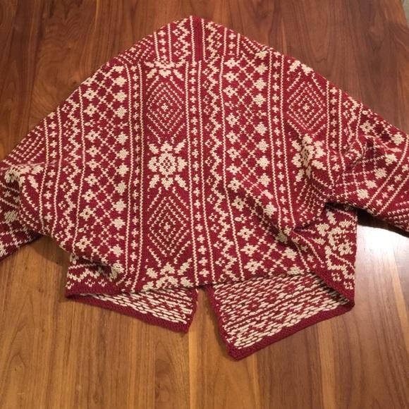 70% off CAbi Sweaters - CAbi Fair Isle Shrug from Ann's closet on ...