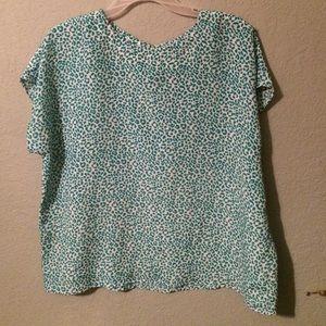 Gorgeous Vintage leopard print blouse