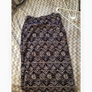 Tribal Maxi Skirt