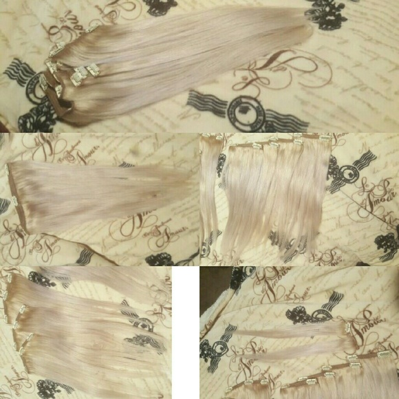 69 off clip fancy hair extensions other sold 260 gram blonde clip fancy hair extensions other sold 260 gram blonde clip in hair extensions pmusecretfo Images
