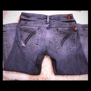 Seven7 Denim - Seven for all mankind Cropped Jeans