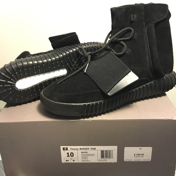 quality design 2d1e9 bd837 Yeezy boost 750 black