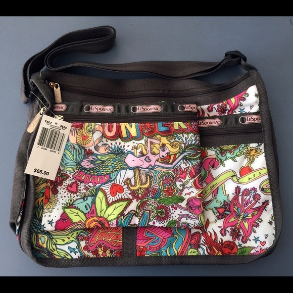 Lesportsac Bags Deluxe Everyday Bag Underwater Mermaid