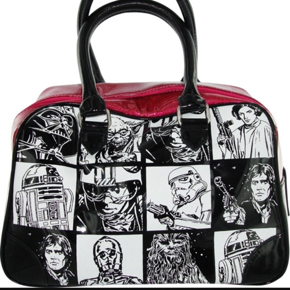 d0f1499c8ebf Handbags - (Sale) Star Wars Glitter Pink Bowling Bag Purse