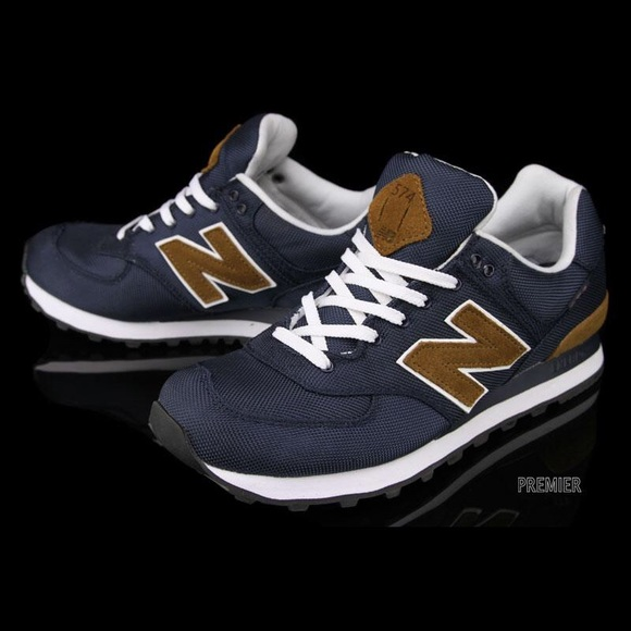 New Balance574 Backpack Sneaker navy + brown
