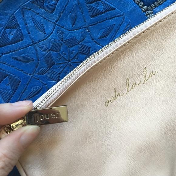 Jouer Cosmetics Bags - Jouer Leather Ooh La La... Makeup Bag or Pouch