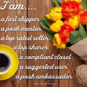 Other - 💝I'm a Suggested user/Posh Ambassador