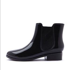 American Apparel Shoes - RETURNED NWT AA Jelly Ankle Rain Chelsea Boots