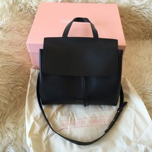 Mansur Gavriel Handbags - Authentic Mansur Gavriel Black Flamma Red Lady Bag