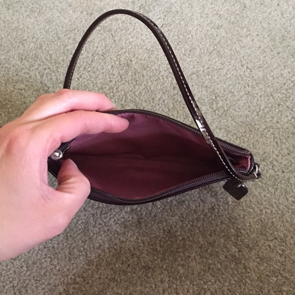 how to clean white patent leather coach purse