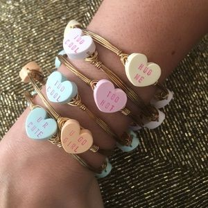 Bourbon and Bowties Jewelry - 💗Conversation Heart Bangles 💗 ✨-SALE