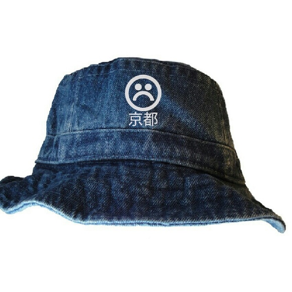 67d6a702dc2 purchase image is loading new nike air tokyo japanese bucket hat yung 00829  5da59  usa sad boys denim bucket hat by dopepremium 0671d a3c72