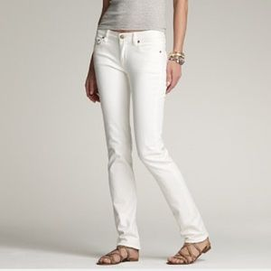 J Crew Matchstick Jean in White