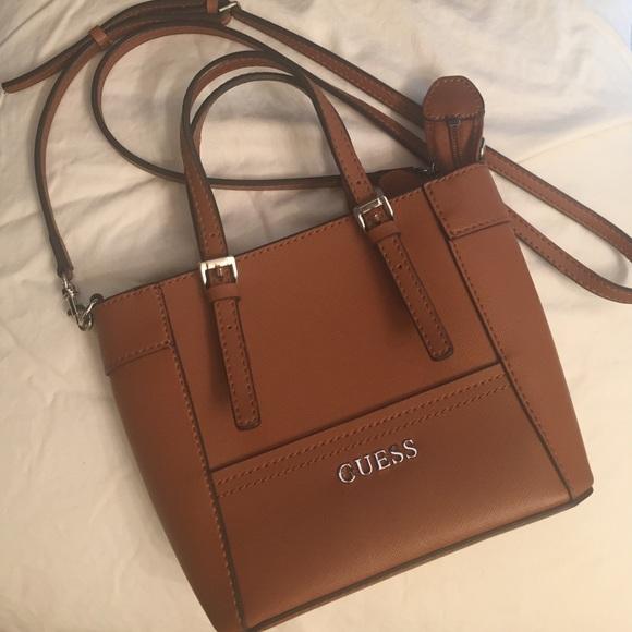 5e9c50ae5d20 Guess Handbags - Brown Guess cross-body bag