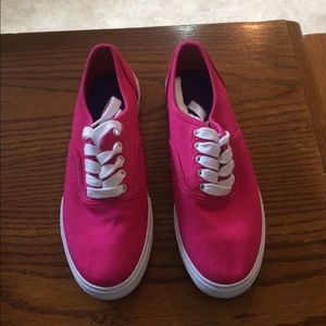 Hot Pink Tennis Shoes