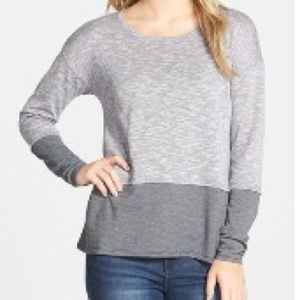 Sun and Shadow Tops - Sun and Shadow small heather gray top