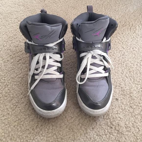 Jordan Shoes | Grey And Purple Jordan