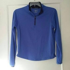 Brooks Tops - Blue Brooks half-zip running top