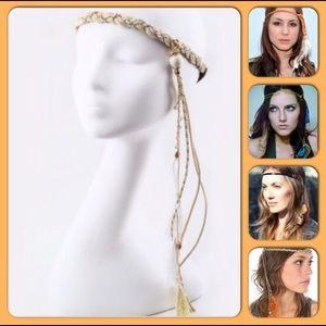 Bohemian Headband With Tassels & Charms