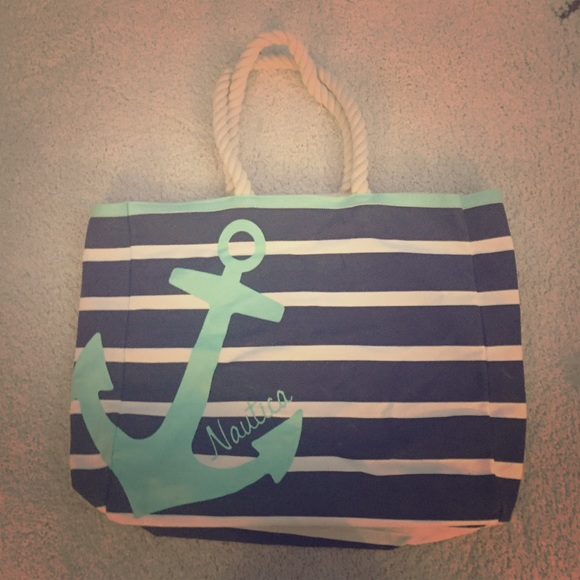82% off Nautica Handbags - PRICE DROP!!! Nautica Beach Bag from ...