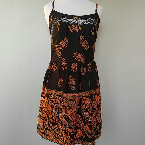 3fc1b475cc856 American Rag Dresses | Paisley Slip Dress | Poshmark
